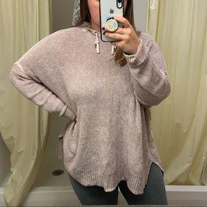 pink aerie hoodie